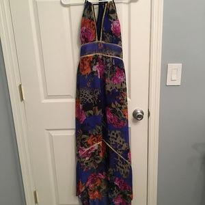Gorgeous high-low floral XOXO dress